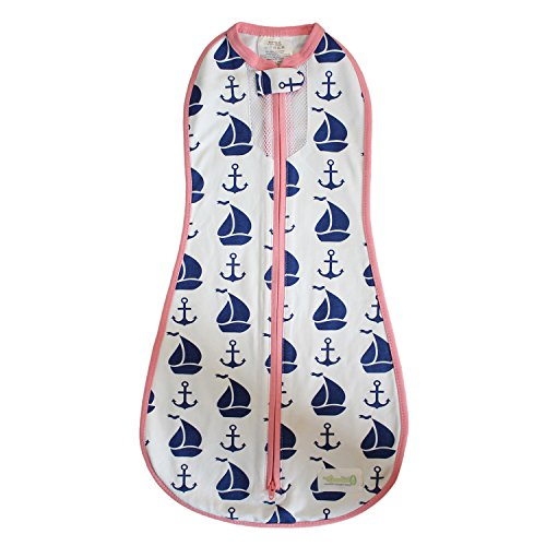 Woombie-Nautical-AIR-for-Girl-WhiteNavyPink-5-13-lbs
