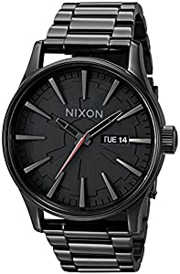 Nixon Men's A356SW-2244-00 Sentry SS Star Wars Analog Quartz Stainless Steel Vader Black Watch