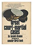 Book cover for Great court-martial cases