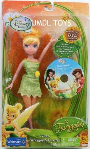Disney Fairies 9 Inch Tinkerbell Tink's Fairygolds Garden by Disney