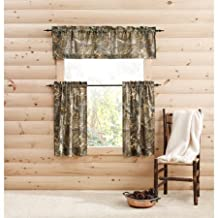 "RealTree Semi-Sheer Camo 29"" x 36"" Curtain Panels, set of 2"