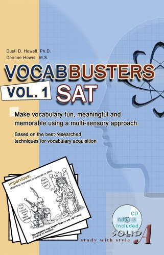 Download Vocabbusters SAT: Make Vocabulary Fun, Meaningful and Memorable pdf