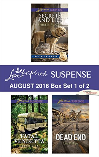 book cover of Harlequin Love Inspired Suspense August 2016 - Box Set 1 of 2