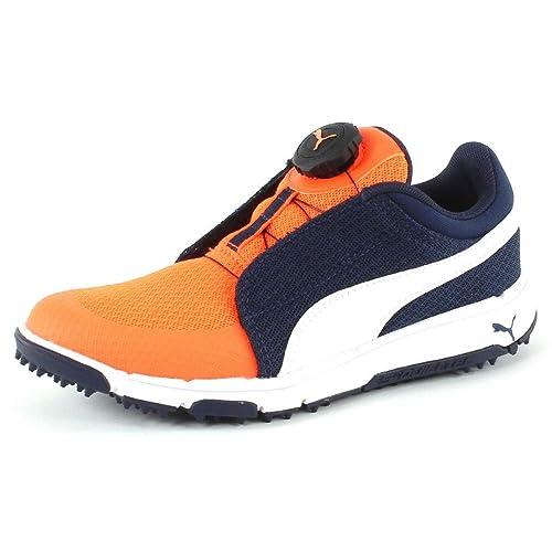 Puma Grip Sport Junior Disc Orange  Amazon.co.uk  Shoes   Bags c2799af46
