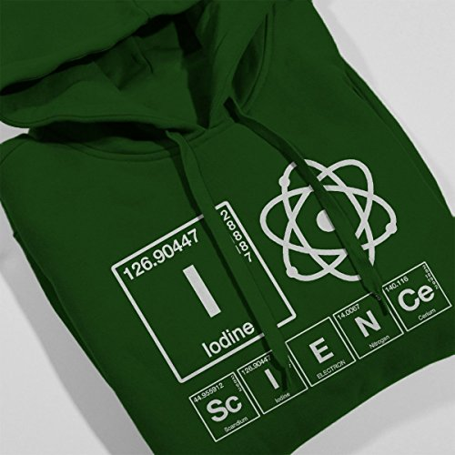 Green Green Green Women's Element Bottle Bottle Bottle Bottle Sweatshirt Hooded Of Science Loving WqqnTw0Rt