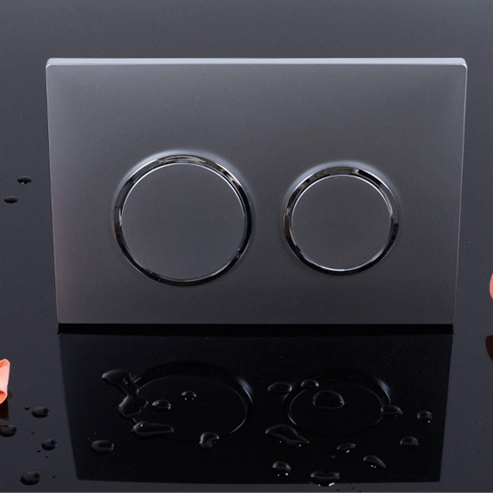 14.4mm 248.5 Color : Champagne gold 168.5 Slooi ABS Into the wall Concealed Water Tank Wall Mounted Toilet Double Flush Panel Flush Button Actuator Plate size