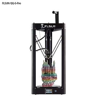 Amazon.com: FLSUN 2019 Impresora Delta 3D de alta velocidad ...