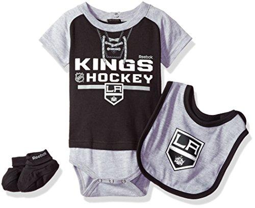 "NHL Infant Kings ""Junior League"" Creeper, Bib & Bootie"