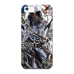 Ldd10999JTss Faddish Assassins Creed 3 Connor Kenway Cases Covers For Iphone 5c