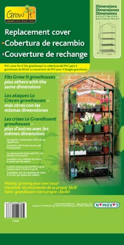 Grow It 4 Tier Growhouse Replacement Cover (Clear) Outdoor, Home, Garden, Supply, Maintenance Outdoor Maintenance