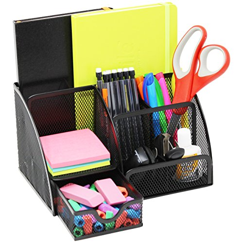 Office Organizer Compartments Slots Drawer