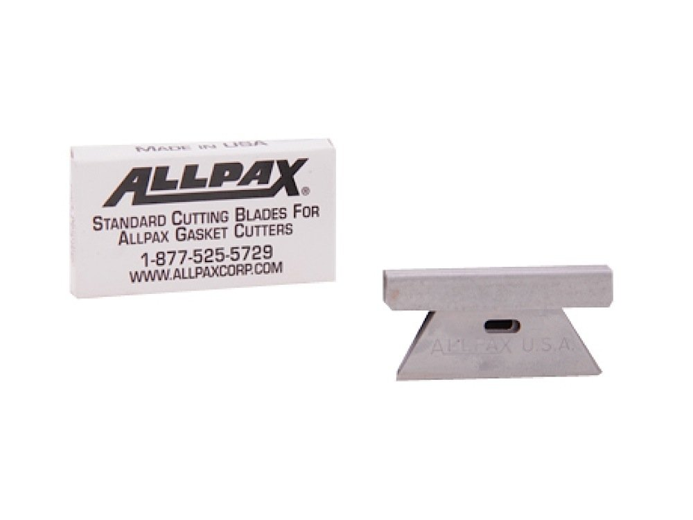 Allpax AX1600 Standard Duty Cutting Blades, Steel (Pack of 6)