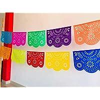 Papel Picado Mexicano/Enramadas destello Floral
