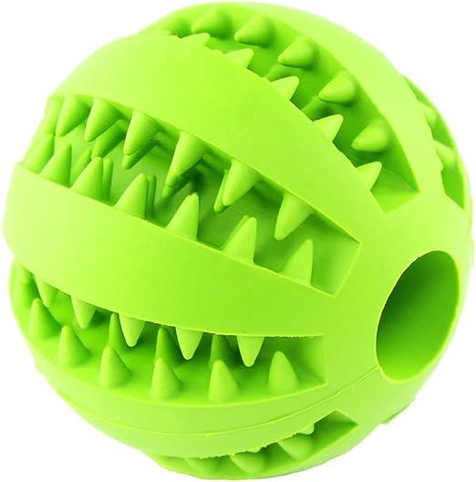 Runfon Juguete mordedor Pelota Goma Juguete de mascar Juguete de Limpieza Dental para Perro: Amazon.es: Productos para mascotas