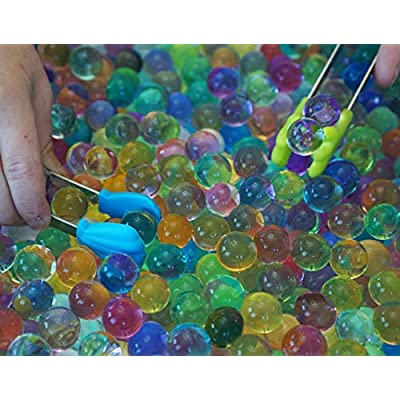 SENSORY4U Water Beads with Fine Motor Sensory Toys Set, Water Bead Sensory Bin Kit, Kids Learning Educational Toys: Toys & Games