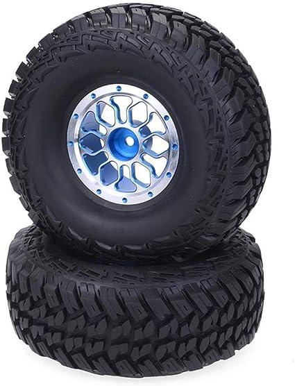 Finelyty Neumáticos de Ruedas de camión RC Crawler 1/10 de ...