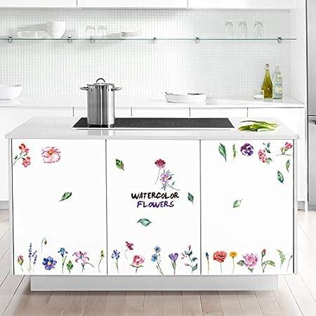 JWJQTLD Etiqueta De La Pared,Flores Pequeñas con Corazón ...