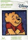 Walt Disney Winnie the Pooh Latch Hook Kit - Huggable Pooh 13 By 13 Inches