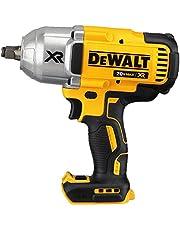 DEWALT 20V MAX* XR Impact Wrench Kit, Brushless, High Torque, Hog Ring Anvil, 1/2-Inch, Tool Only (DCF899HB)