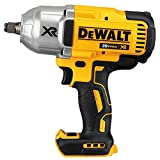 DEWALT 20V MAX XR Impact Wrench Kit, Brushless, High Torque, Hog Ring Anvil, 1/2-Inch, Tool Only (DCF899HB)