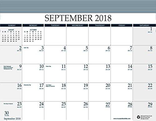 House of Doolittle Refill for Reminder Wall Calendar (#HOD13502), 16 Months September 2018 to December 2019, 11.5 x 9.75 Inches (Hanging Refill Calendar)