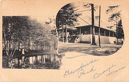 Brookside Park Views Antique Postcard J18376 ()