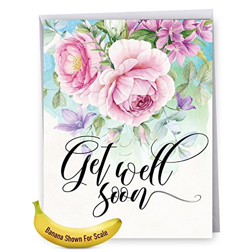 extra large get well card - 4