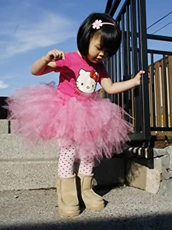 c66c8c93cc Image Unavailable. Image not available for. Color: Sweet Peas - Tutu Skirt w  RibbonBow for Baby ...