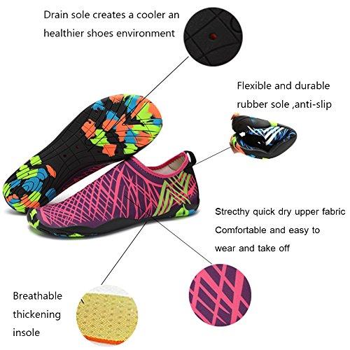 Shoes Swim muilt Diving Dry Water Shoes Aqua Women Socks Holes Pool Beach For Men Snorkeling Surf Drainage 16 Barefoot VITIKE Quick zvwq8R6n6