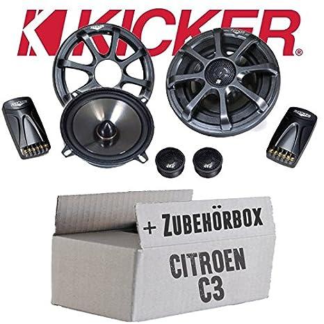 Kicker KS50.2-13cm Lautsprecher Boxen System - Einbauset für ...