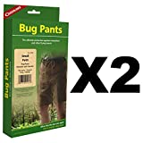 Coghlan's Bug Pants Small Black Unisex Flame Retardant Mosquito Net (2-Pack)