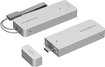 M.2 NGFF SSD SATA 10Gbps to USB 3.1 External Enclosure Case Adapter Aluminium