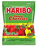 Haribo Gummi Candy, Happy Cherries, 5 oz. Bag (Pack of 12) Review