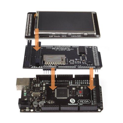 Sainsmart tft lcd screen kit for arduino due uno r