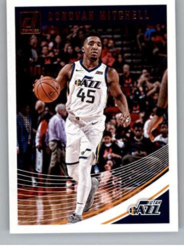 - 2018-19 Donruss #63 Donovan Mitchell Utah Jazz Basketball Card