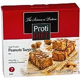 ProtiDiet High Protein Bar – Peanut Surprise (7 Servings/Box) Review