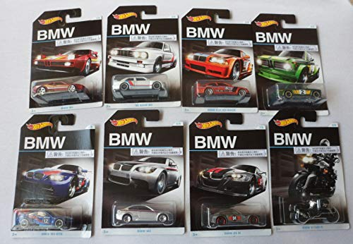 Hot Wheels Bmw 100th Anniversary Complete Series  Set of 8