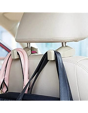 Home Vehicle Groceries Universal Fit Car Bag Bottle Truck Headrest Bag Holder Hook Chair Adjustable Fashionable Patterns