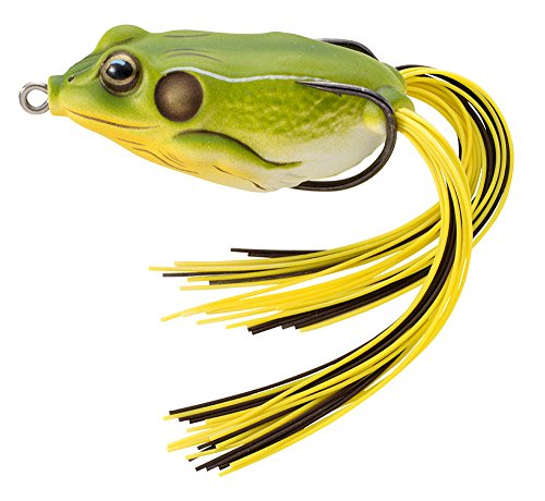 Koppers Floating Frog Hollow Body Lure  1 75 Inch  1 4 Ounce  Bright Green