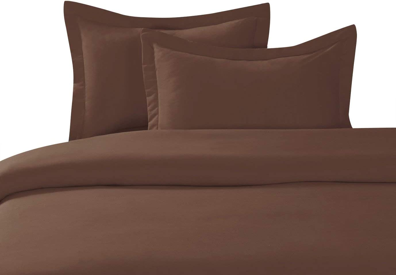 Hypoallergenic 100/% Egyptian Cotton Duvet Cover Solid 600 Thread Count