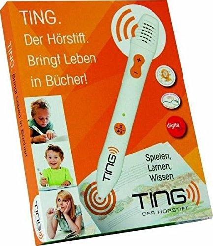 TING Der Hörstift: Der Lesestift für alle Bücher der Ting-Welt! Unbekannter Einband – 1. April 2018 TigerPlay GmbH B07CBLSGXR empfohlenes Alter: ab 4 Jahre für den Primarbereich