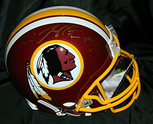 Robert Griffin Iii Autographed Signed Helmet Fs Proline Rc Stat Helmet JSA Rgiii Redskins