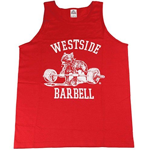 Westside barbell Nitro Tank Top (XXL, Red) ()