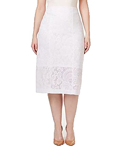 Plus Size Midi Pencil Skirt