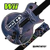 Mightyskins Skin Decal Cover for GUITAR HERO 3 III Nintendo Wii Les Paul - Dragon Fantasy