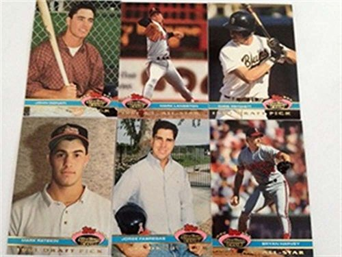 1992 Topps Stadium Club Dome Angels Team Set 1991 6 Cards MINT