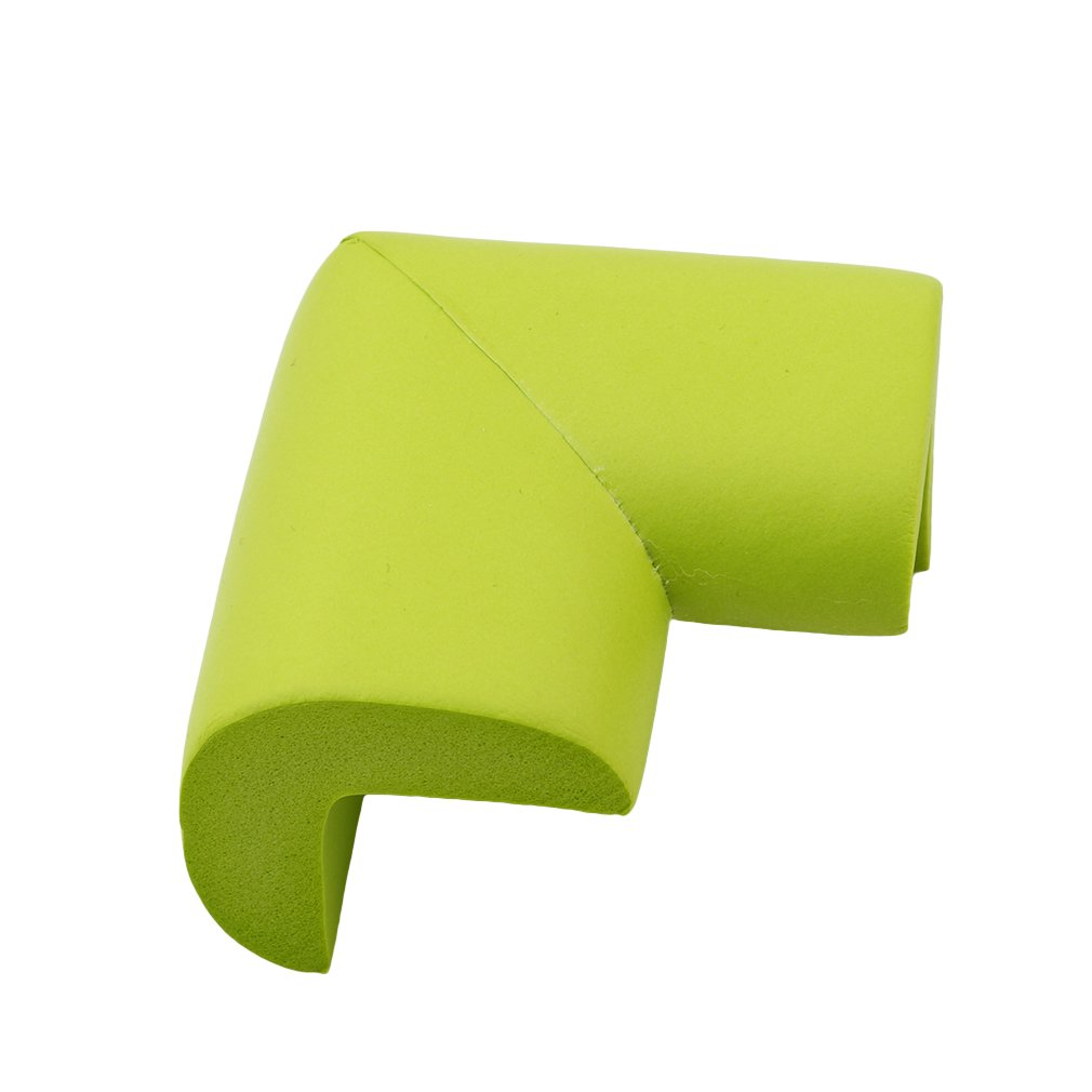 LALANG 8pcs U Shape Table Corner Cushion Anti-crash Safety Protector Desk Corner Guards (Green)