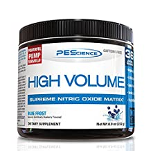 PEScience - High Volume - Pre-Workout Supplement - Supreme Nitric Oxide Matrix -  36 Scoops  (Blue Frost)