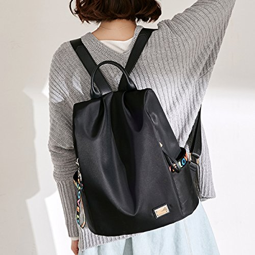 FZHLY Oxford Cloth Shoulder Bag Mujer College Style Antirrobo Personalidad Mochila