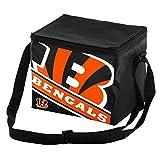Cincinnati Bengals Big Logo Stripe 12 Pack Cooler